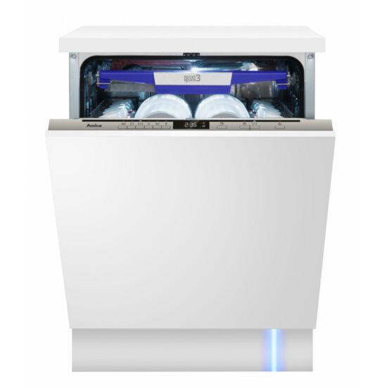 Amica DIM636ACBD Teljesen beépíthető mosogatógép