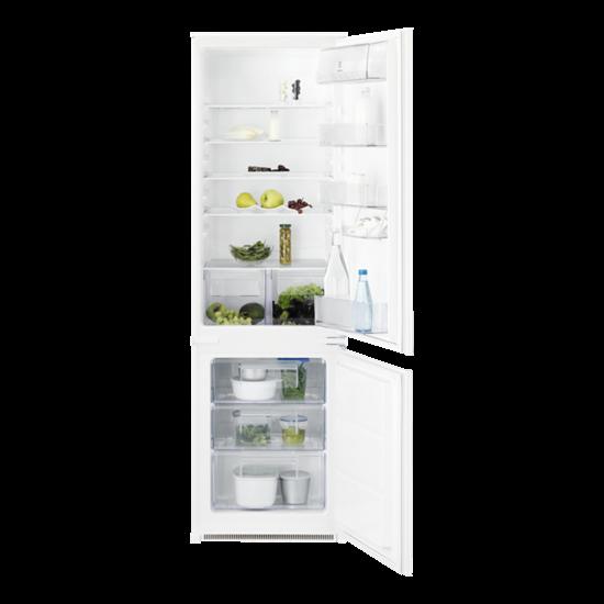 Electrolux ENN2800BOW beépíthető alulfagyasztós kombi hűtő