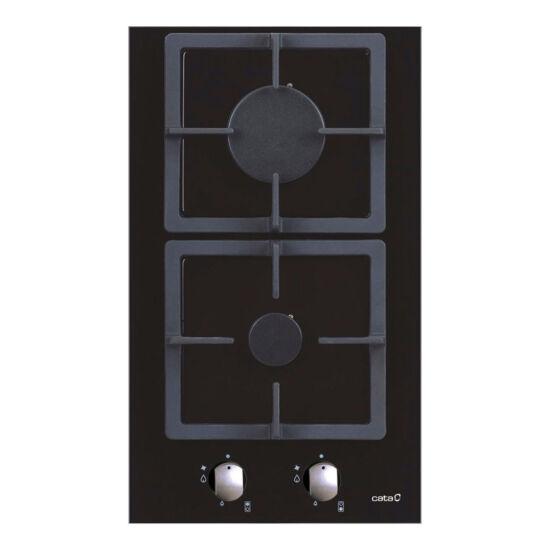 CATA LCI 302 BK beépíthető dominó gázfőzőlap
