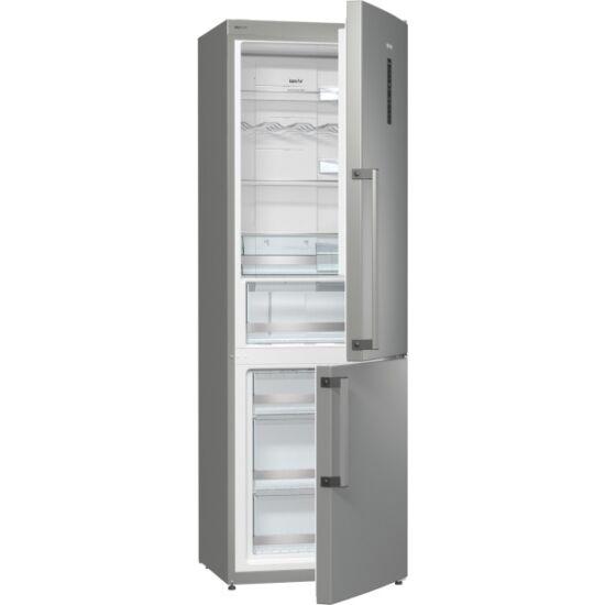 Gorenje NRK6192TX Kombinált hűtőszekrény alsó fagyasztóval