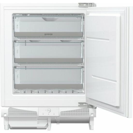 Gorenje FIU6092AW pult alá építhető fagyasztószekrény