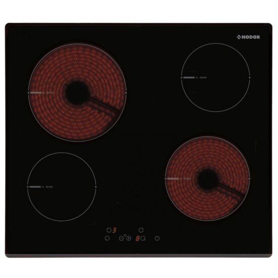 NODOR V 4060 BK beépíthető főzőlap