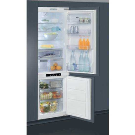 Whirlpool ART 883/A+/NF beépíthető, alulfagyasztós hűtőszekrény