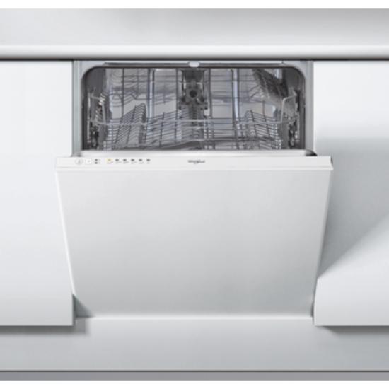 Whirlpool WIE 2B19 beépíthető, teljesen integrálható mosogatógép, 60 cm