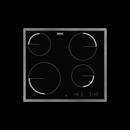 Zanussi ZEV36340XB beépíthető Főzőlap Kerámia