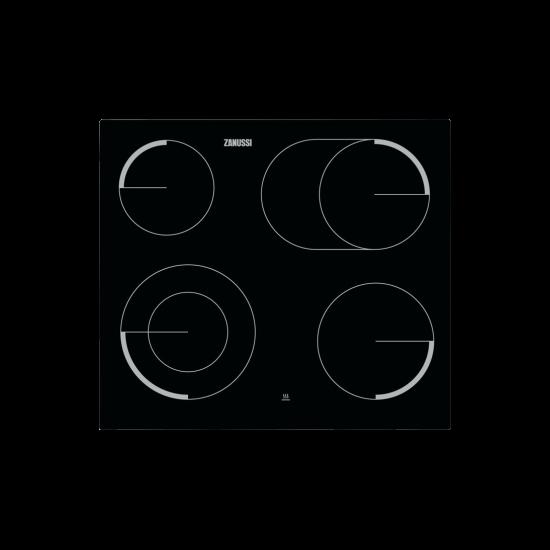 Zanussi ZEV6046FBA Beépíthető kerámia főzőlap