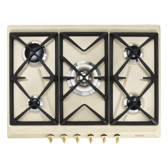 Smeg SPR876PGH beépíthető gázfőzőlap