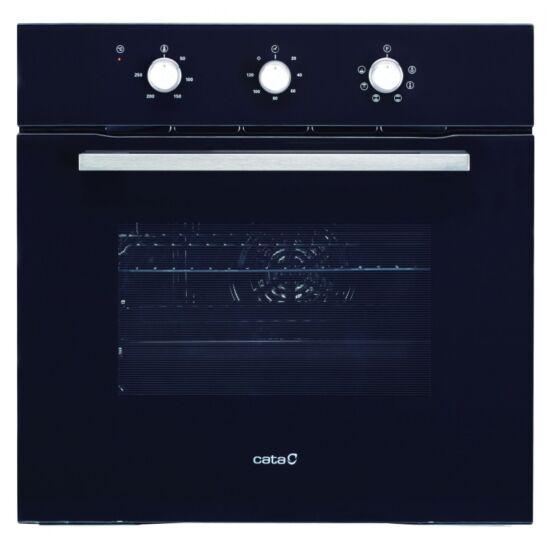CATA LC 860 BK Beépíthető sütő+ CATA LCI 631 BK gáz főzőlap 2C szett