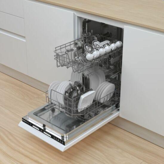 Candy CDIH 1L949 Beépíthető Keskeny mosogatógép