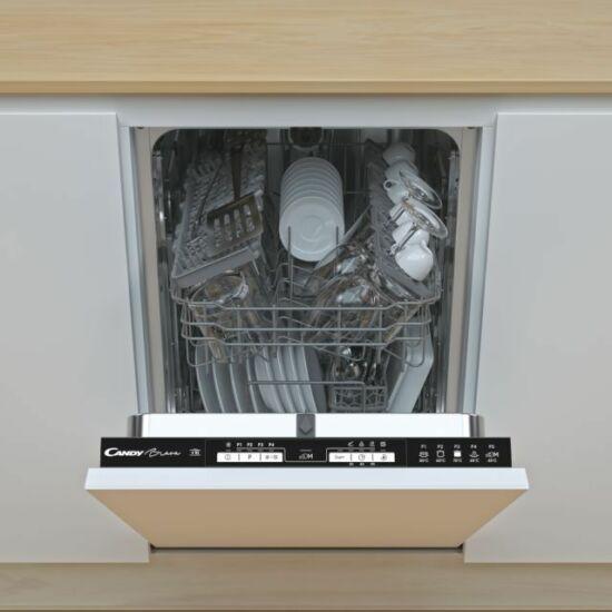 Candy CDIH 2L1047 Beépíthető Keskeny mosogatógép