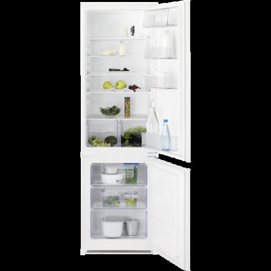 Electrolux KNT2LF18S beépíthető Hűtő alulfagyasztós