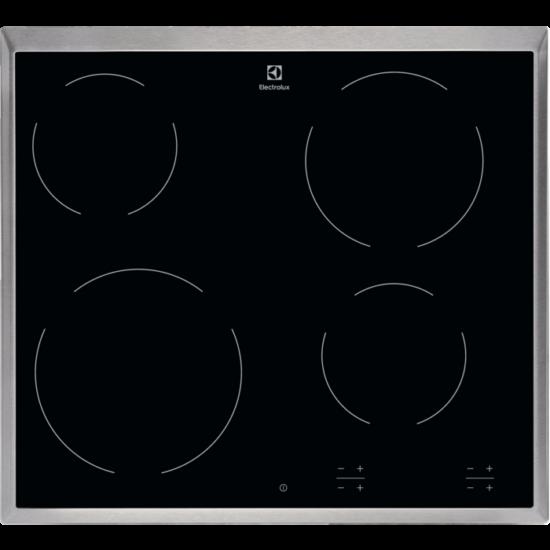 Electrolux EHF6240XXK beépíthető Főzőlap Kerámia