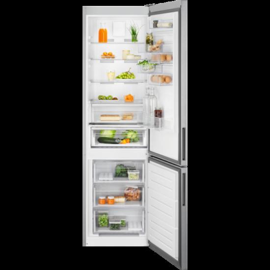 Electrolux LNC7ME34X1 hűtő alulfagyasztós NF
