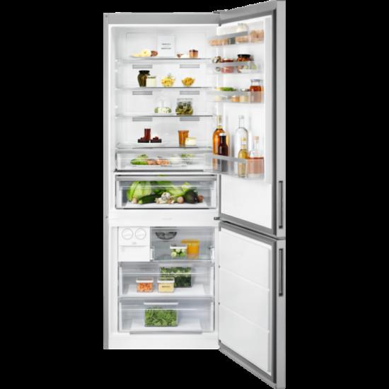 Electrolux LNT7MF46X2  hűtő alulfagyasztós NF