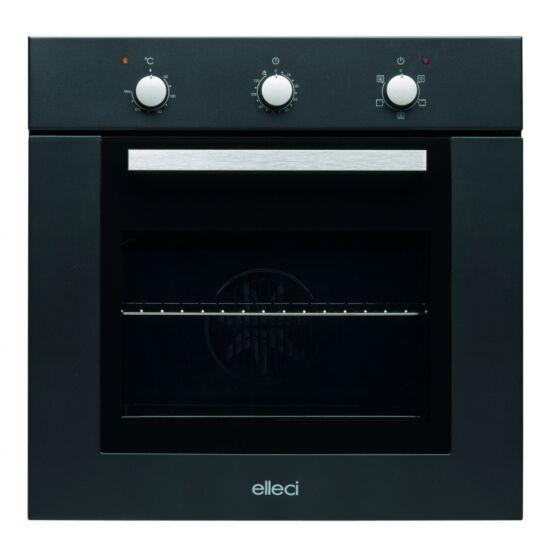 ELLECI PLANO G40 Full Black - A készlet erejéig! (beépíthető sütő)